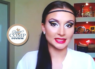 Competitive-'Sparkling'-DanceSport-MakeUp-Tutorial